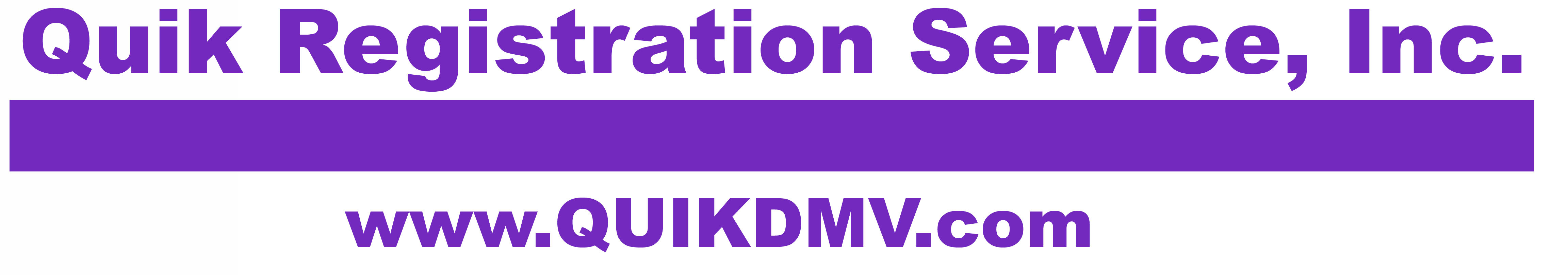 QuikDMV Registration Services